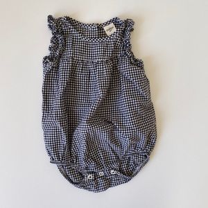OshKosh | Baby Girl gingham romper